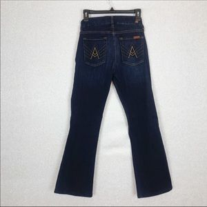 """7 For All Mankind """"A-Pocket"""" Flare Leg Jeans"""